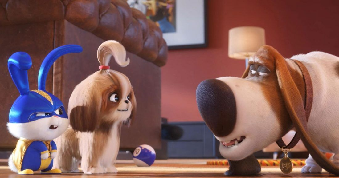 Snowball, Daisy, and Pops from The Secret Life of Pets 2